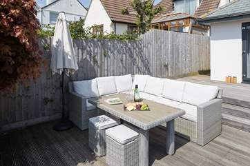 Great patio area, perfect for a spot of dining alfresco.