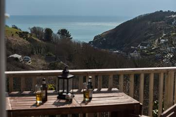 The view down to Cadgwith Cove may entice you to get a little closer with a walk down the hill, if you pop into the pub the walk back up will be a breeze....