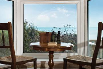Watch the wildlife or the passing ships, a room with a view.