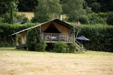 An idyllic retreat in an idyllic spot.