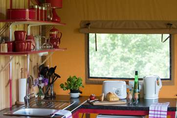The kitchen is fully equipped with everything you will need for your holiday.