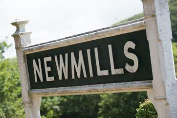 New Mills Station.