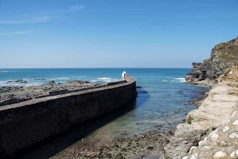 Portreath is a lovely place to visit at any time of year.