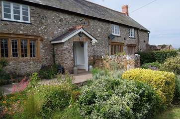 The farmhouse is a traditional period Somerset building, a little piece of history with a sumptuous interior.