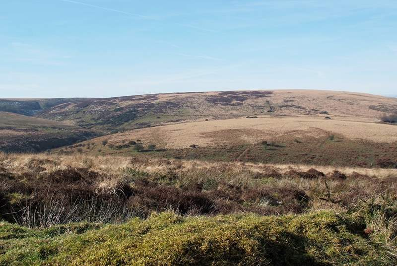 This is a perfect base for a walking holiday on Exmoor.