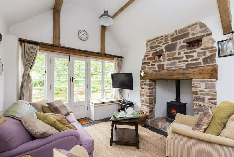 The cottage is so snug and cosy. A lovely welcoming feel the moment you step inside.