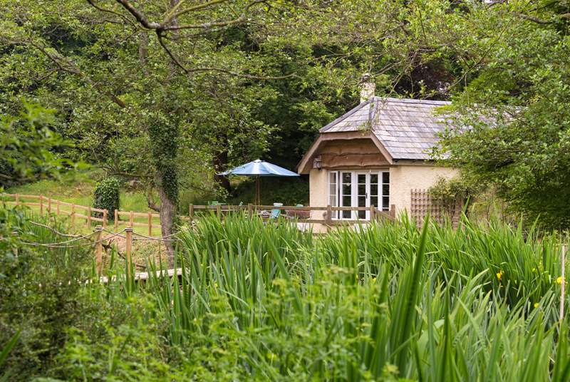 Dieppy Farm Cottage is in the most idyllic of settings, not only on the edge of Exmoor but also in a Designated Dark Skies Area - with no light pollution to spoil the night sky.