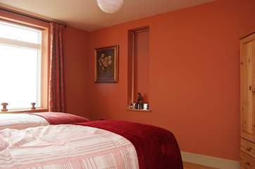 Bedroom 1 with 'zip and link' beds.