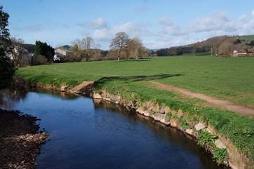 Stroll down into Colyton and take a long riverside walk - perfect if you are bringing a dog.