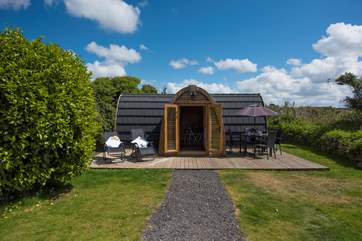 The Hideaway, your idyllic glamping retreat.