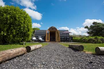 This lovely pod really is the perfect hideaway.