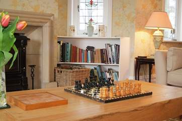 Anyone for chess or play on line
