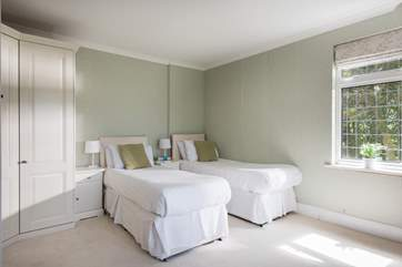 Bedroom 2 can also be made up as a 5' double or two single beds (2'6