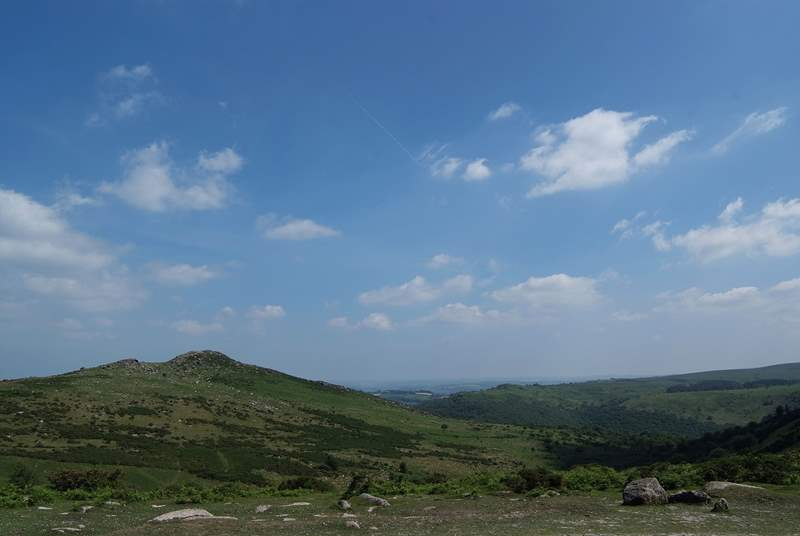 Views of the high moor.