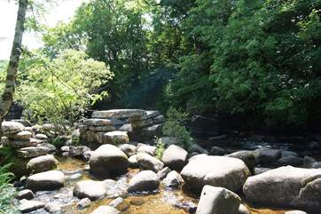 The river Dart at Dartmeet.