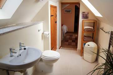 Spacious with countryside views from the Velux window.
