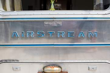 Finley is a retro Airstream.