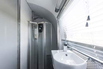 And an electric shower too.