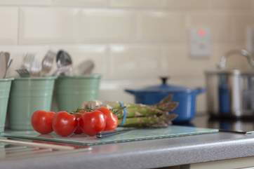 Enjoy some local produce for meals at home but there are plenty of ideas in the cottage folder for eating out too.