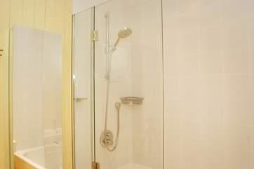 This bathroom is en suite to Bedroom 2.