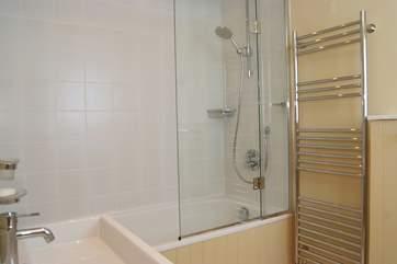 This bathroom is en suite to Bedroom 3.