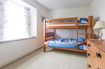 Bedroom 2 with bunk-beds.
