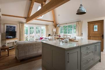 The lovely kitchen area.