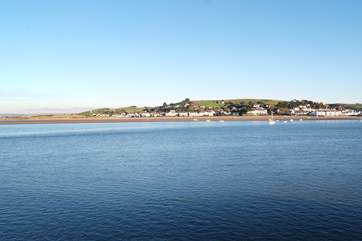 Across the estuary, reached by a lovely seasonal passenger ferry, is Instow - where there are wide sandy beaches.