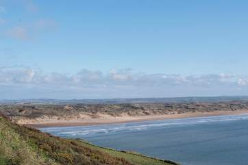 North Devon's beaches are as good as any in Cornwall for surfing! Endless stretches of golden sand and rolling waves.