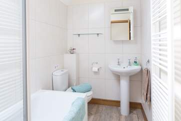 The family bathroom is on the first floor and there is an additional shower-room and separate WC downstairs.