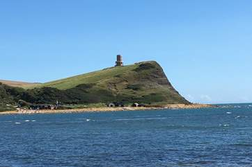 Clavell Tower at Kimmeridge on the World Heritage Jurassic Coast, the Etches Collection of fossils found in this location is on display in the new visitor centre in the village.