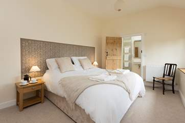 All the bedrooms are spacious, stylish and with their own en suite shower or bathrooms. What a touch of luxury.