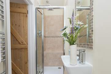 This is its en suite shower-room.