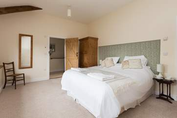 There is so much space in all the bedrooms - no one will feel they have drawn the short straw!