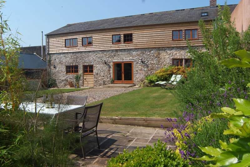 Lambs Lawn is a stunning barn conversion - a real celebration of a property!