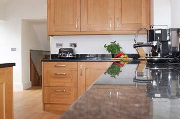It really is a pleasure to cook in Manor Farmhouse kitchen.