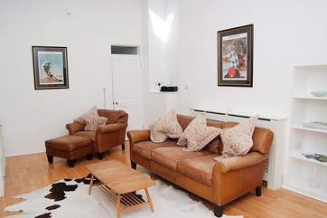 Very comfortable furniture in the sitting-room.
