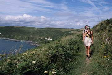 The South West Coast Path is well worth exploring.