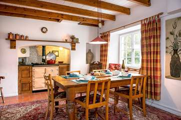 The cottage dining-room.