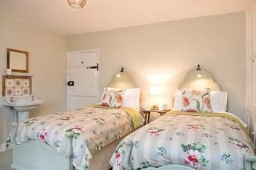 Pillaton Mill has three delightful bedrooms.
