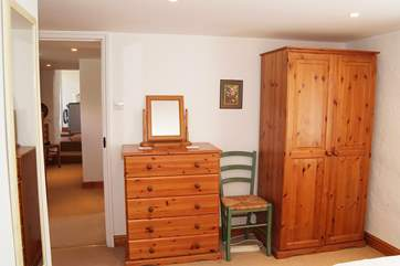 The bedrooms are all located on the ground floor with a bathroom and one end and the shower-room at the other.