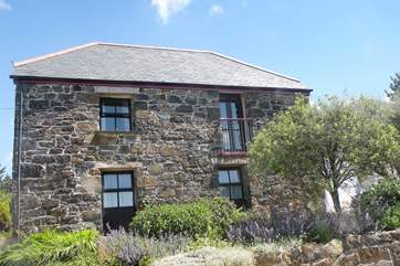 The cottage at Penvores is a lovely old stone cottage on a working farm.