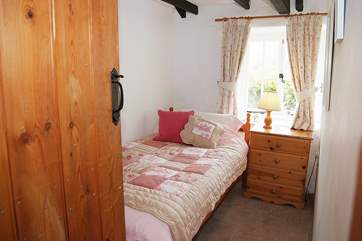 The second single bedroom.