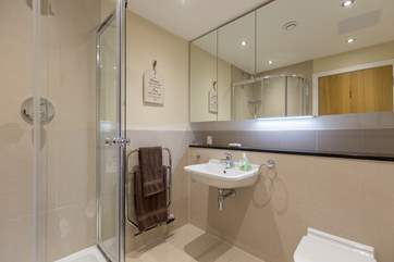This is the en suite shower-room for the master bedroom. Another really well thought out and spacious room.