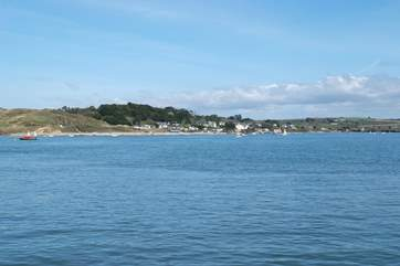 Take a ferry trip over to Rock and enjoy the shops, beaches and view of Padstow.