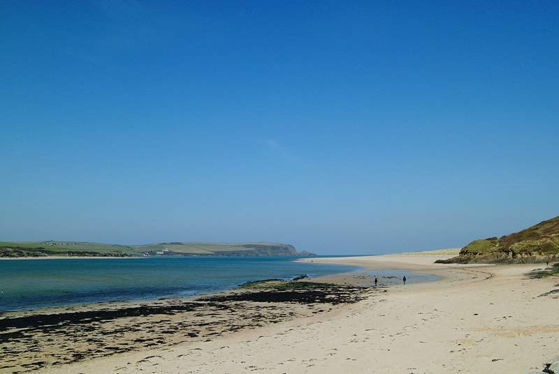 Daymer Bay is across the river and offers walks all the way to Polzeath.