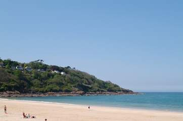 Carbis Bay beach, just one mile from Trevail.