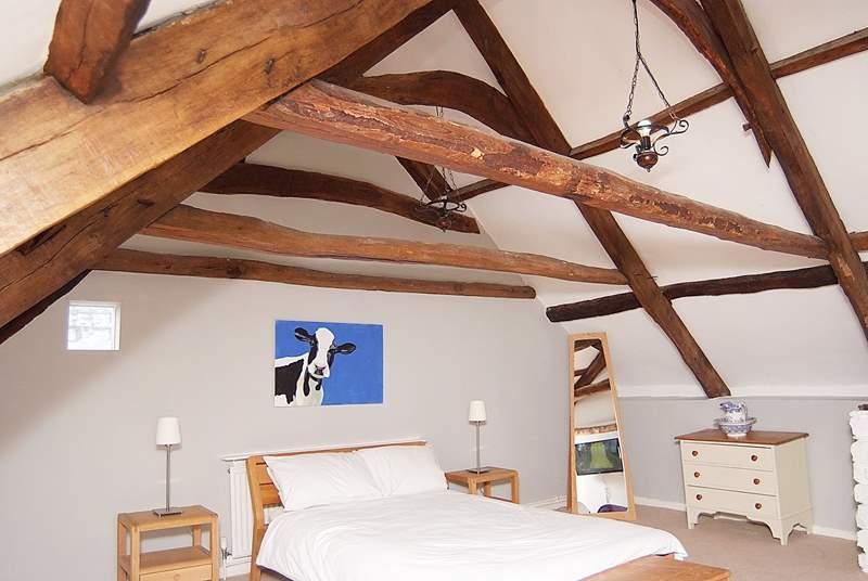 The stunning top floor bedroom (bedroom 3).