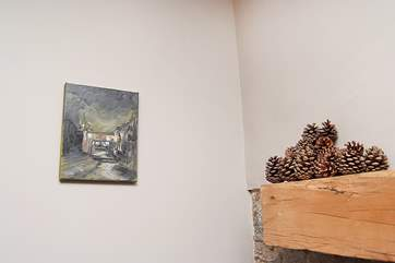 The Owners have an eclectic selection of pictures and prints.