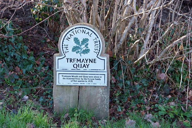 Tremayne Quay belongs to the National Trust.
